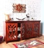 Gordon Sideboard in Honey Oak Finish by Woodsworth