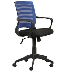 Ergonomic Chair in Black Colour by Parin at pepperfry