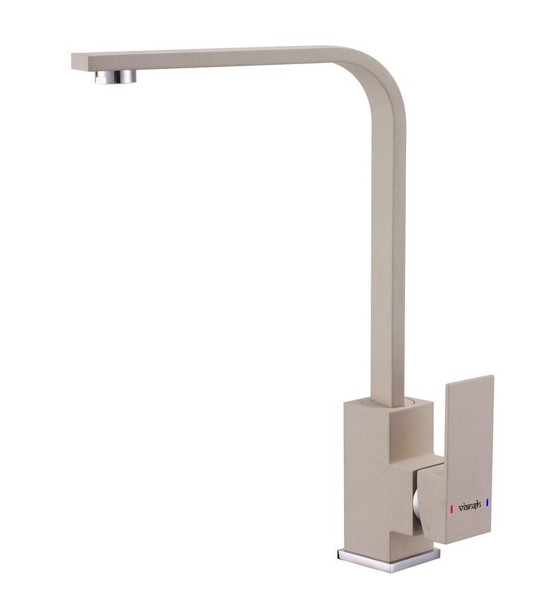 Viansh Brass Cream Sink Faucet