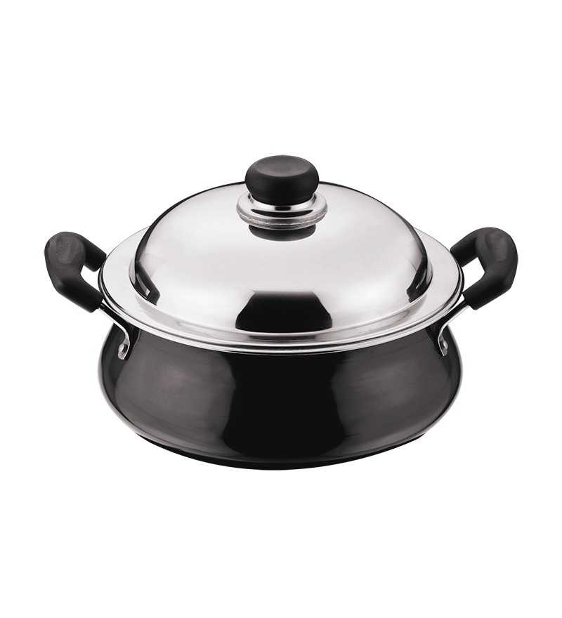 Hard Anodized 2000 ML Handi by Vinod Cookware