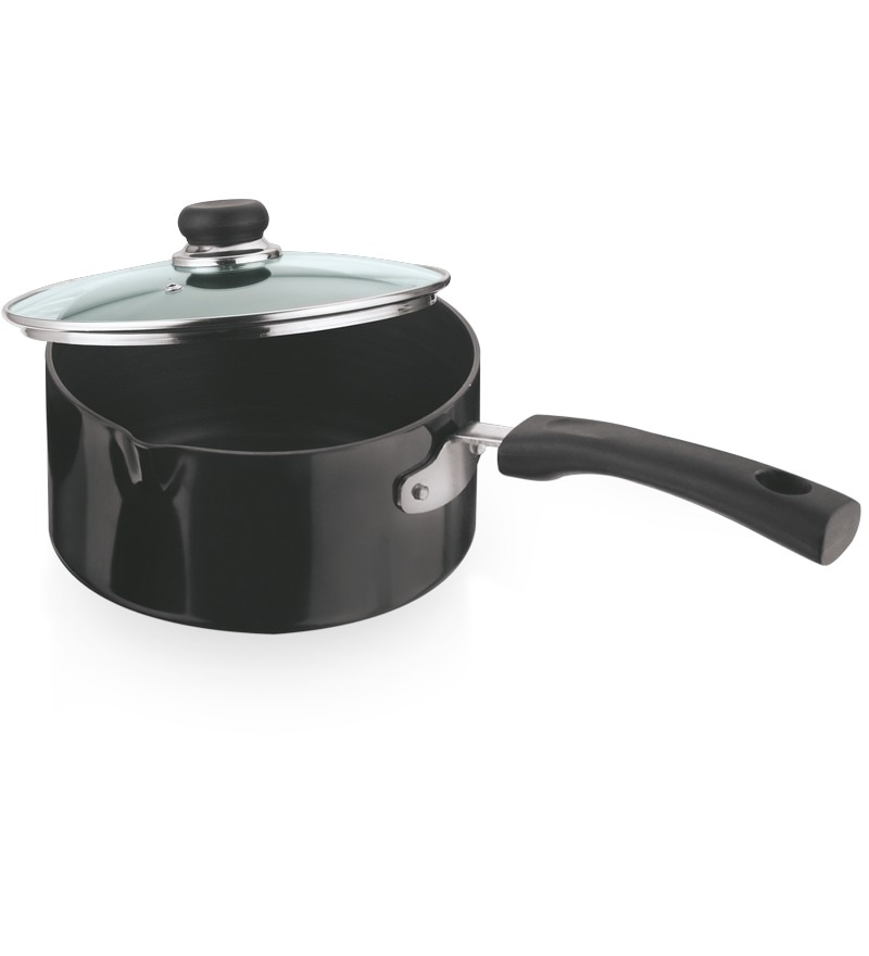 Hard Anodized 1.7 L Sauce Pan by Vinod Cookware