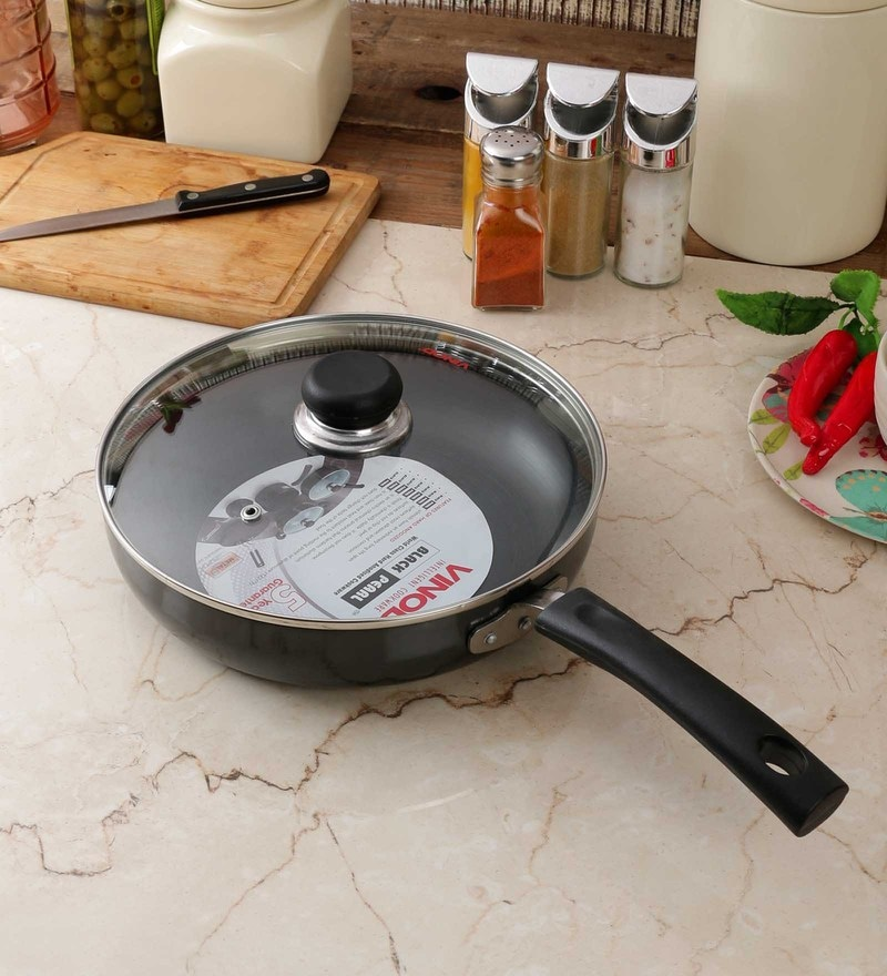 Hard Anodized Fry Pan by Vinod Cookware