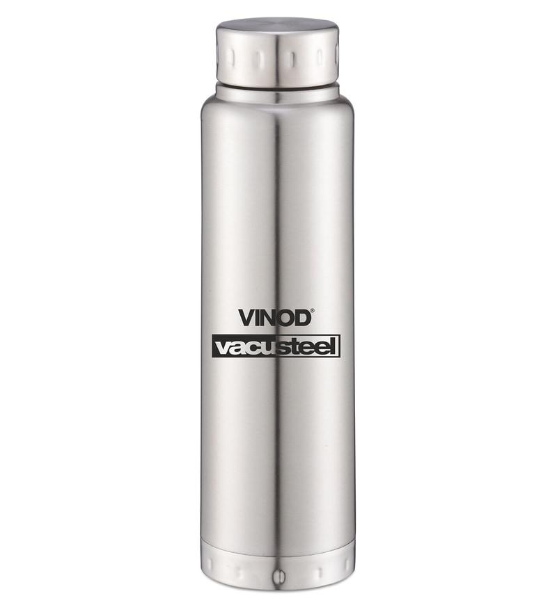 Vinod Cookware Omega Silver Stainless Steel 300 ML Bottle