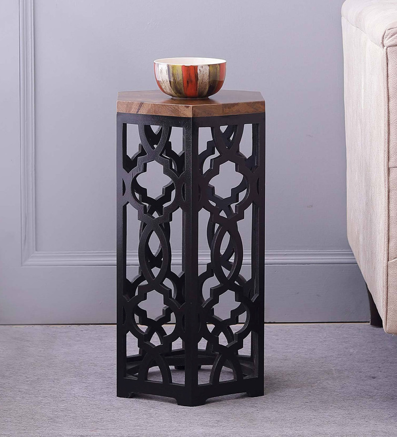 Visalia End Table in Dual Tone by The ArmChair