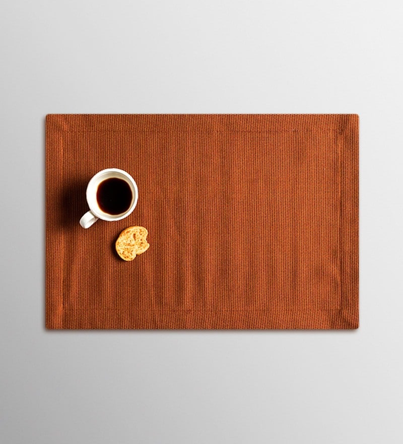 Vista Home Fashion Walnut Cotton & Polyester Placemats