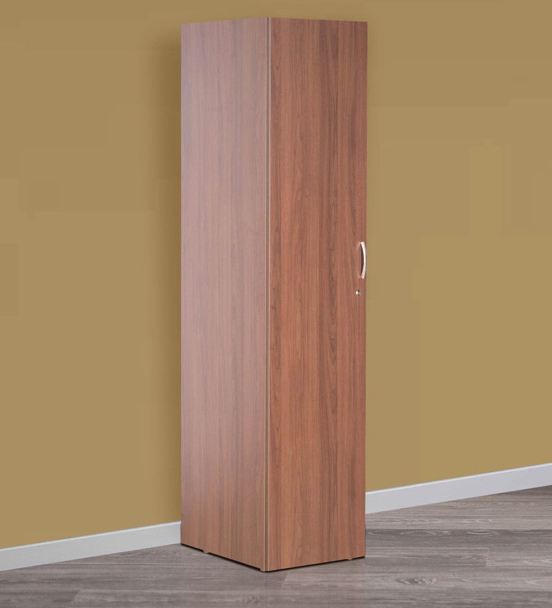 Buy Florid Single Door Wardrobe with Wall Mount Storage Unit in ...