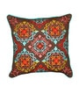 Vista Brown Cotton & Flex 16 x 16 Inch Cushion Cover