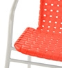 Vittorio Arm Chair in Red Colour by Nilkamal