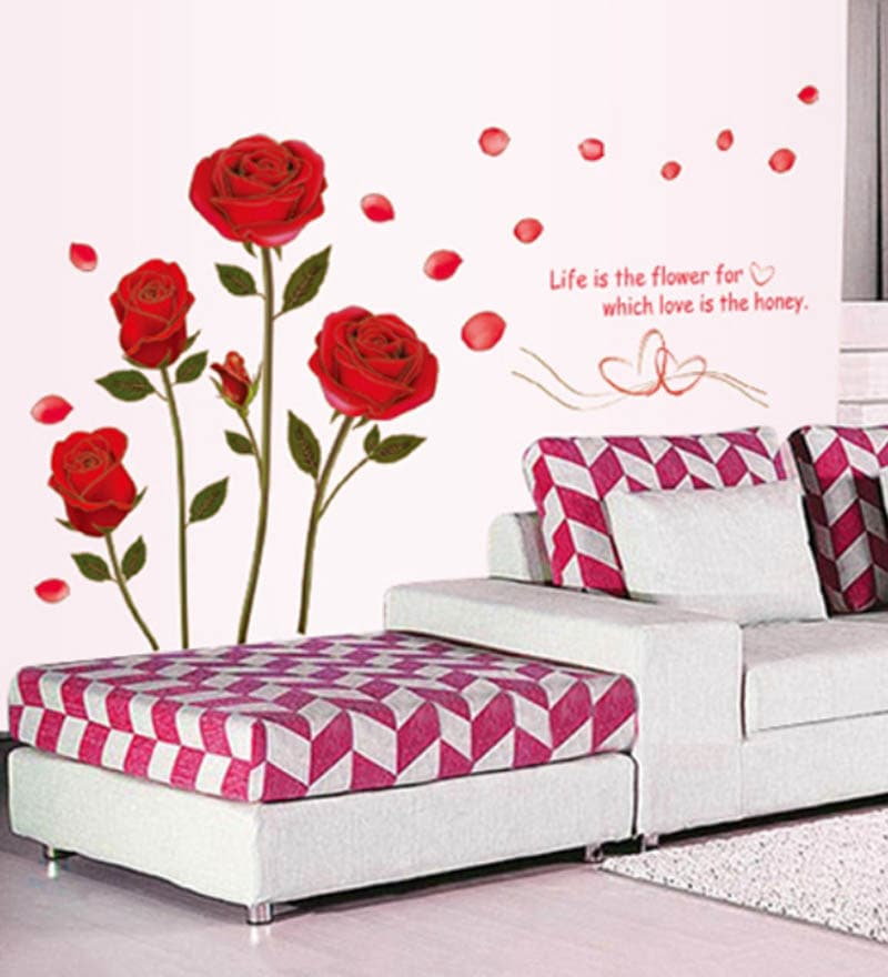 Romantic Wall Stickers For Bedrooms