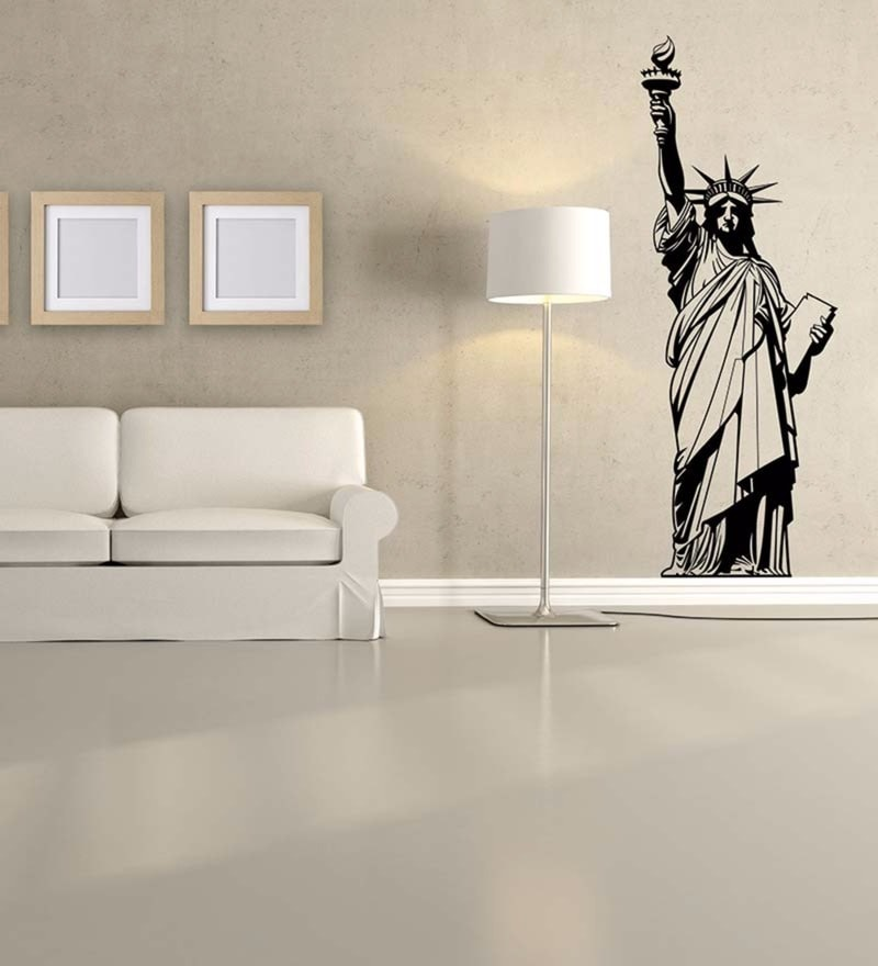 Vinyl Statue of Liberty Wall Decal by Wallskin