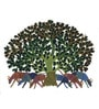 Wall Decor Canvas 18 x 1 x 14 Inch Gond Tribal Framed Art Print