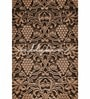 Brown Non Woven Paper Earthy Embroidery Wallpaper by Wallskin