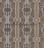 Wallskin Brown Non Woven Paper The Symmetry Of Shapes Wallpaper