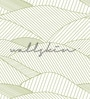 Green Non Woven Paper The Sea Lines Wallpaper by Wallskin