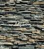 Grey Non Woven Paper Stones Wallpaper by Wallskin