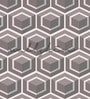Grey Non Woven Paper The Cubic Symmetry Wallpaper by Wallskin