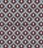 Maroon Non Woven Paper Spiral Pattern Wallpaper by Wallskin