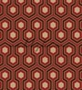 Maroon Non Woven Paper The Warm Pattern Wallpaper by Wallskin