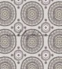 Multicolour Non Woven Paper The Ethnic Circles Wallpaper by Wallskin