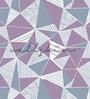 Wallskin Purple Non Woven Paper The Pastel Symmetric Pattern Wallpaper