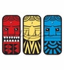 Wallskin Vinyl Three Artistic Totem Wall Decal