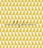Yellow Non Woven Paper The Pattern Wallpaper by Wallskin