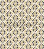 Yellow Non Woven Paper The Zigzag Wall Wallpaper by Wallskin