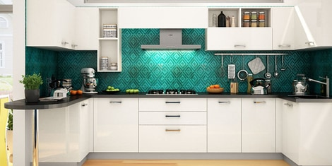 Magnificent U Shaped Modular Kitchen Buy U Shaped Kitchen Design Download Free Architecture Designs Lukepmadebymaigaardcom