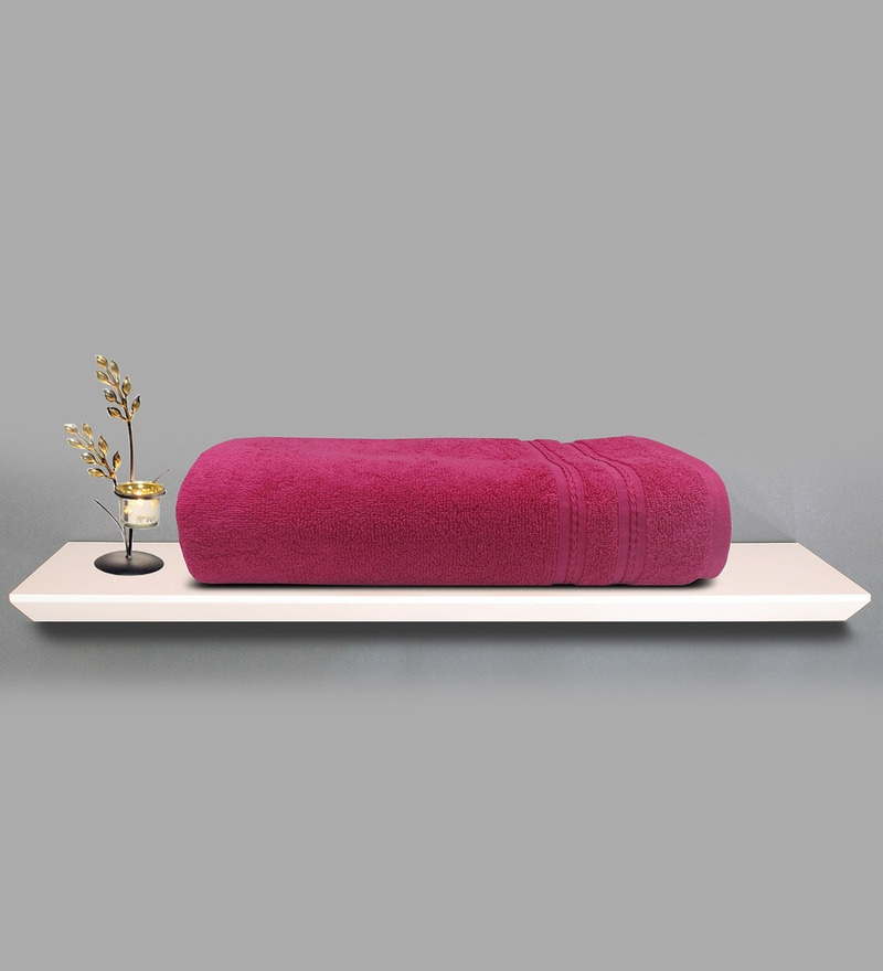 Berry 100% Cotton 30 x 60 Inch Fabulox Towel by Welhome
