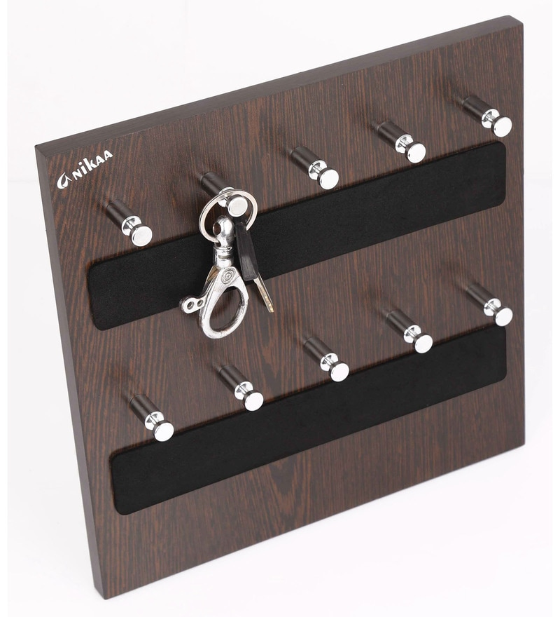 Wenge Woodsky 10 Series Key Chain Holder by Anikaa