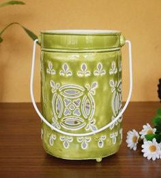 White Metal Tea Light Holder - 1716570