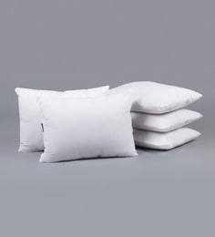 White Polyester 14 X 20 Inch Non Woven Cushion Filler - Set Of 5