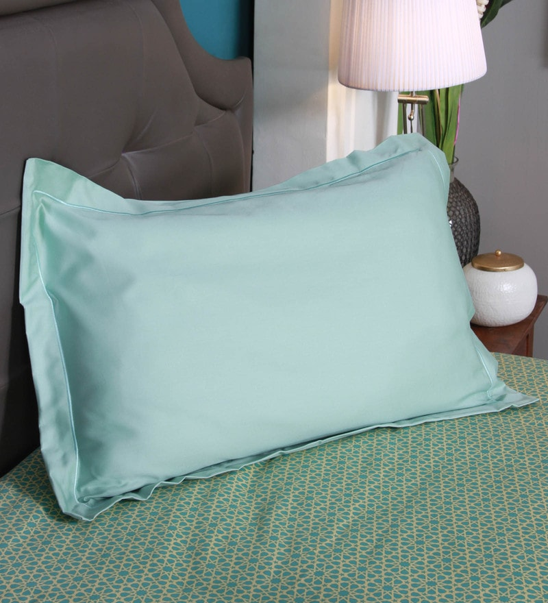 White 100% Cotton Mist Pillow Inserts by Kurlon