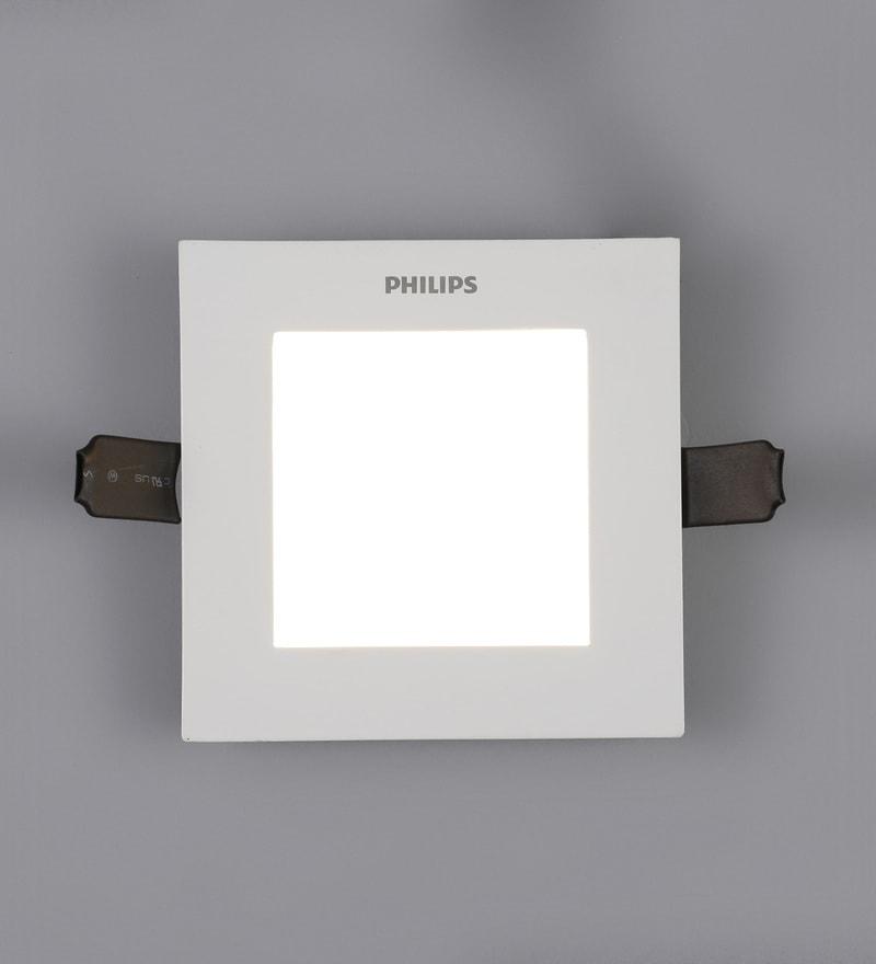 Buy lightspro black aluminium spot light online recessed lights yellow aluminum ultra slim plus 7 w concealed ceiling light by philips aloadofball Choice Image