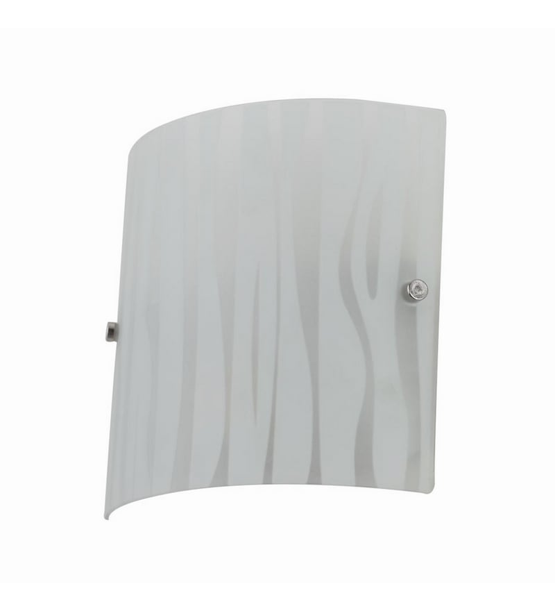 White Mild Steel Wall Light by LeArc Designer Lighting