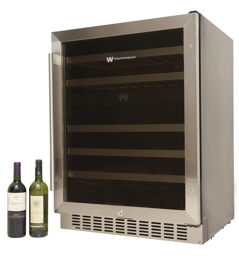 White Westinghouse 45DIX 46 Bottle Wine Cooler