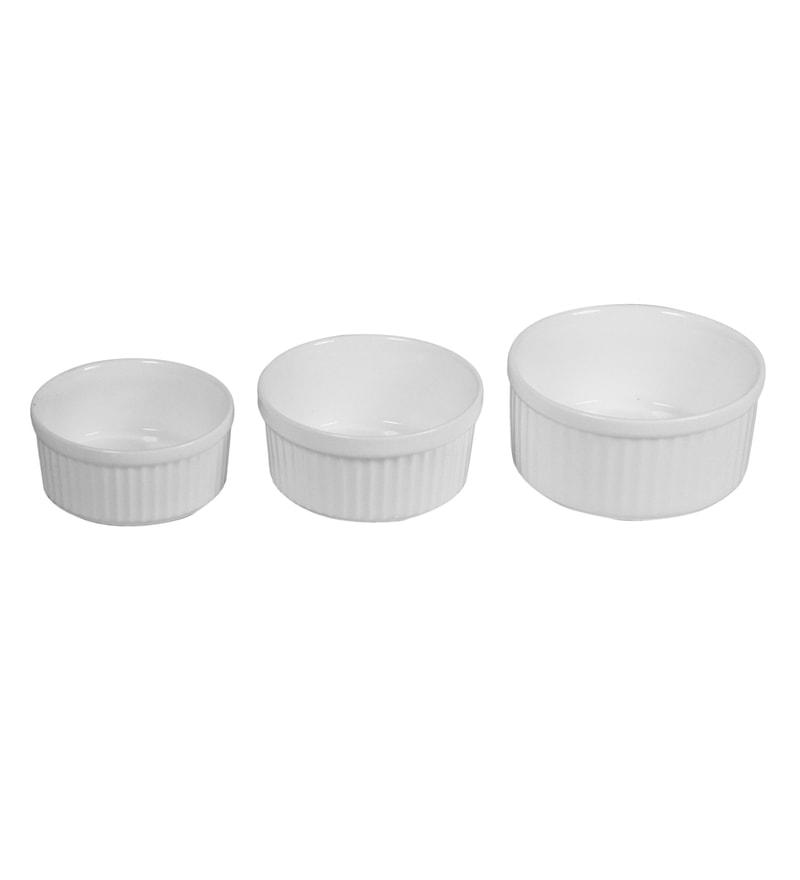 Wilmax England Porcelain Ramekin - Set Of 3