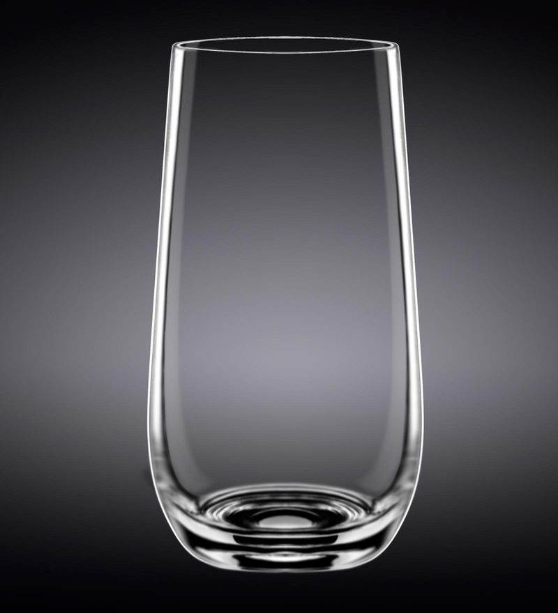 Wilmax England Longdrink Whiskey Glass - Set of 2 in Colour Box