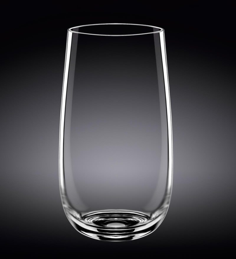 Wilmax England Longdrink Whiskey Glass - Set of 6 in Plain Box