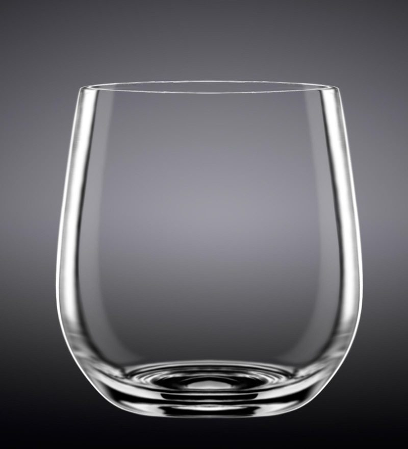 Wilmax England Whisky Glass - Set of 2 in Colour Box
