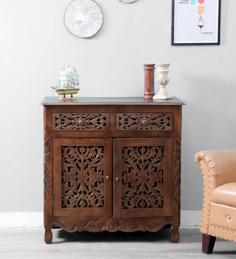 Windsor Two Door Sideboard in Provincial Teak Finish by Amberville