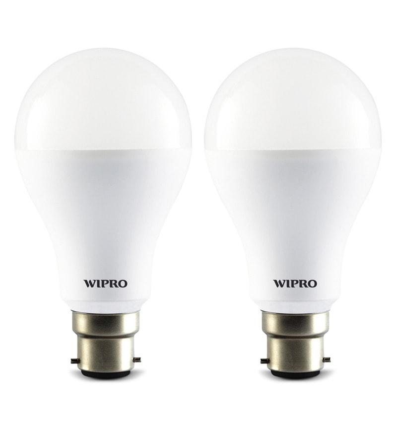 Wipro 6500K 14W LED Bulb - Set of 2