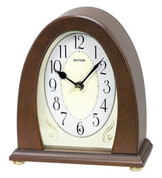 Wooden 6.6 X 3.1 X 7.4 Inch Auto Night Shut Off Volume Control Rrs(Real Symphony) Clock