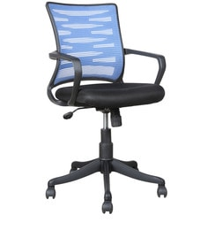 Astec Ergonomic Chair In Blue Colour