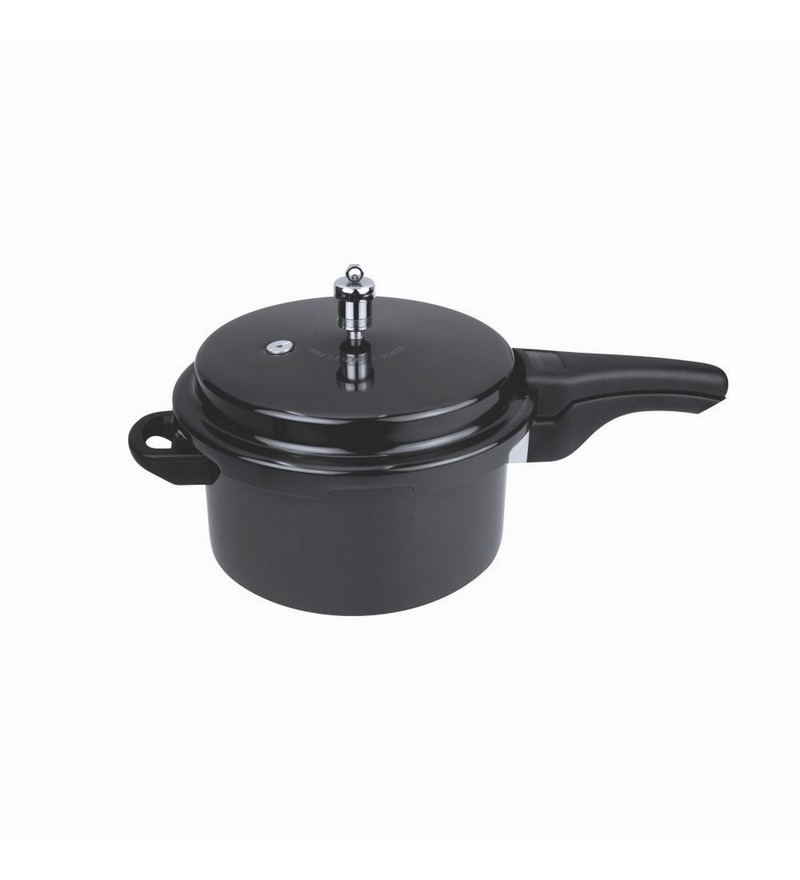Wonderchef Hard Anodized Classic Pressure Cooker 7.5L- Induction Base