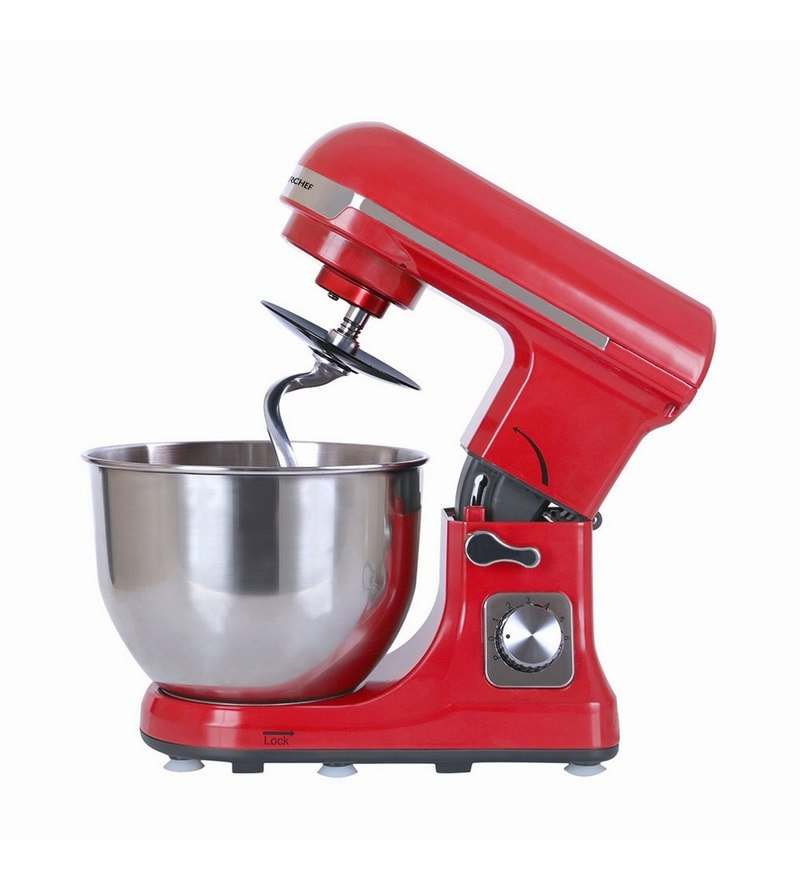 Wonderchef Stand Mixer Red Juicer Mixer Grinder