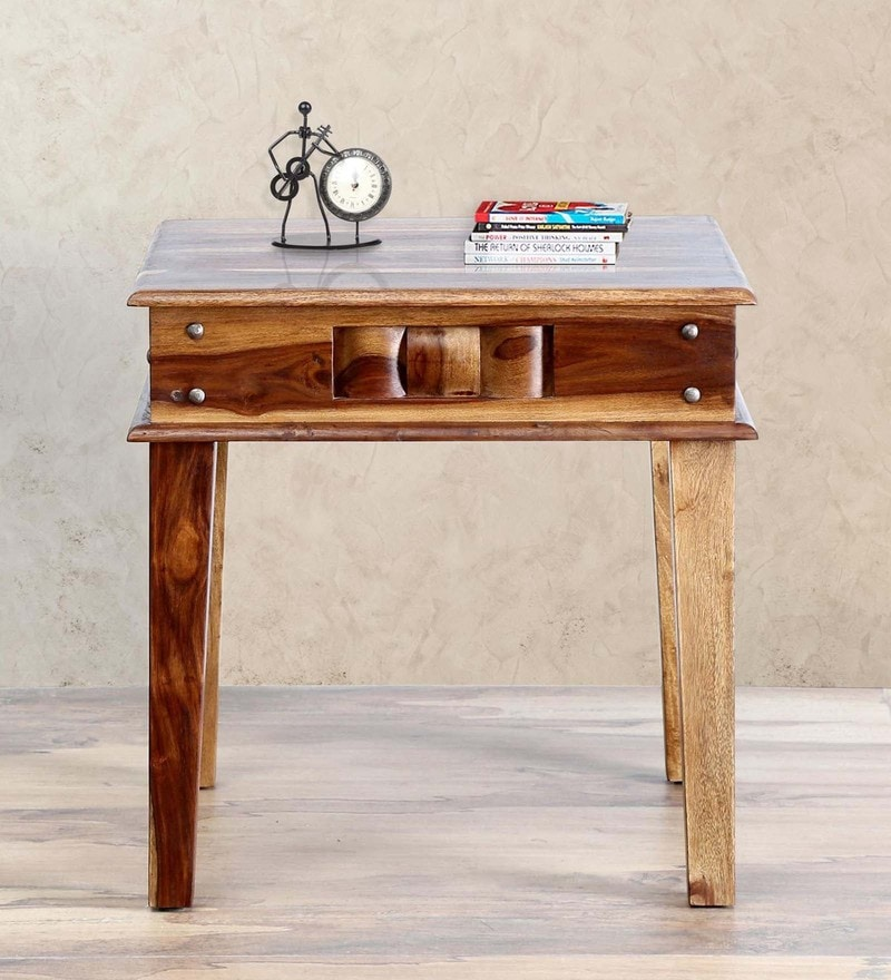 Woodway End Table in Provincial Teak Finish by Woodsworth