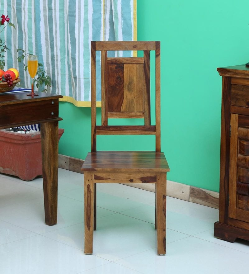 Buy Woodway Solid Wood Dining Chair In Provincial Teak