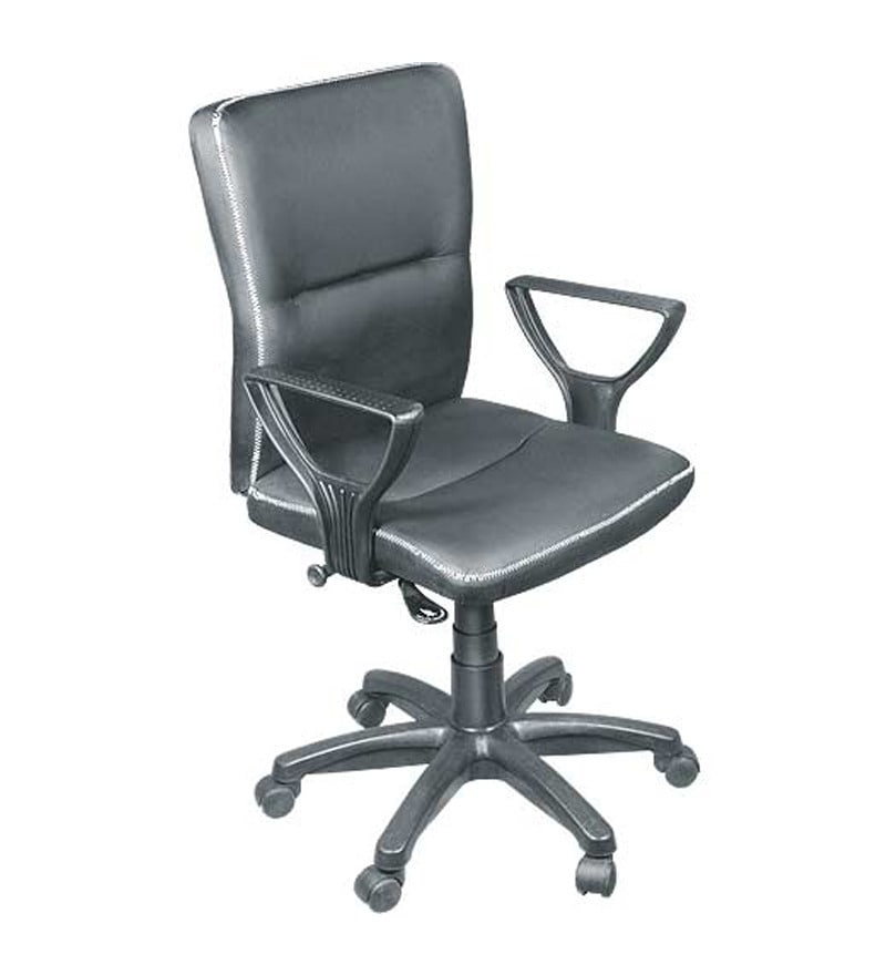 Buy Workstation 520 Series Ergonomic Chair In Black Colour