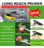 Wonderland Telescopic New Clip Anvil Long Reach Pruner